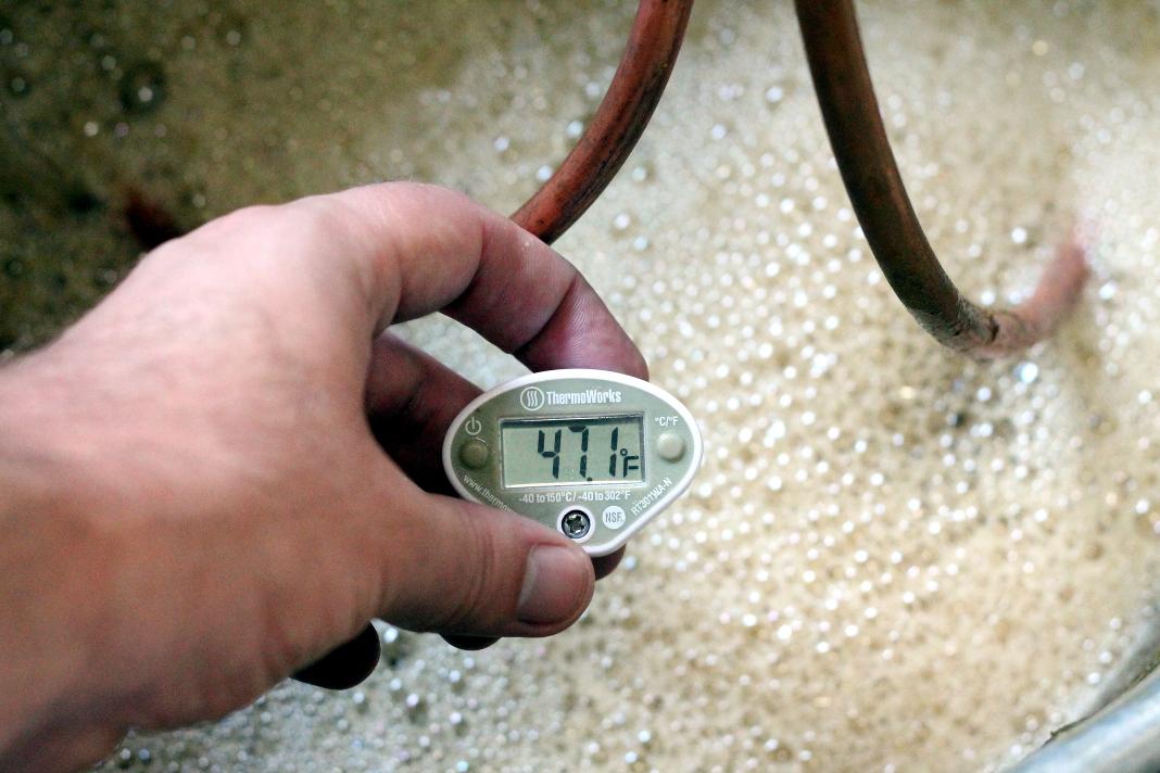 Termômetro para Fabricação de Cerveja Artesanal